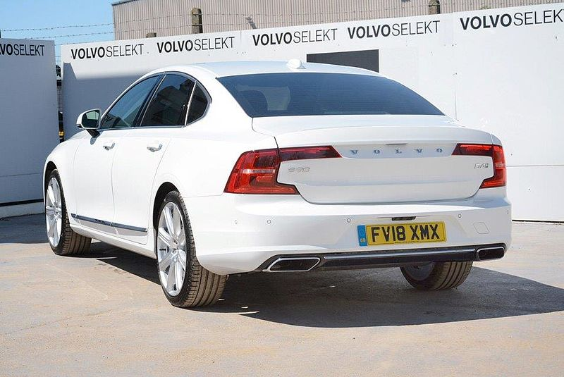 Volvo S90 D4 Inscription Pro Automatic Sunroof, BLIS, Smartphone Integration, 360 Camera